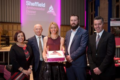 Sheffield Ambassador Programme 10th anniversary dinner