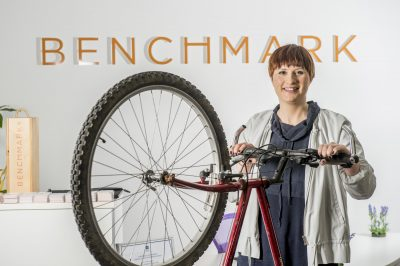 Bike Donation from Benchmark Recruit