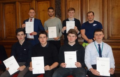 Amey Bronze DofE awards Jan 18