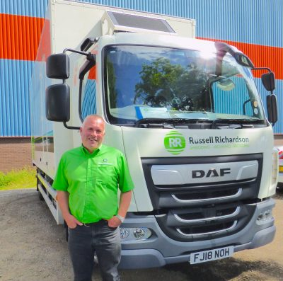 RussellRichardson Jonathan with new truck