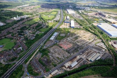 Peel Logistics Park proposed landscape Oct 17