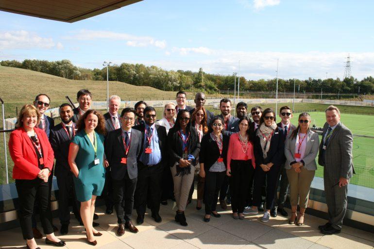 Delegates visit UTC Sheffield Olympic Legacy Park