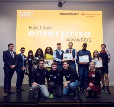 Hallam Enterprise winners