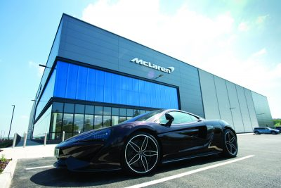 McLaren - PLEASE PICTURE CREDIT HARWORTH GROUP