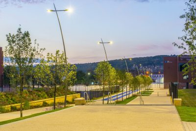 Sheffield Olympic Legacy Park evening