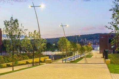 Sheffield Olympic Legacy Park evening
