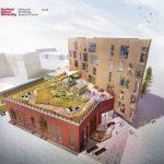 Building work progresses at Hallam's Health Innovation Park