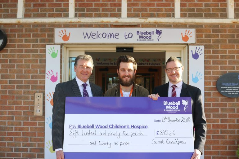 Bluebell Wood cheque presentation FINAL