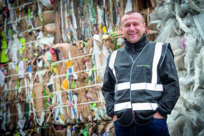 DJB Recyling SheffieldDarren Bland (Managing Director)Picture Dean Atkins