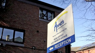 St Annes Sign