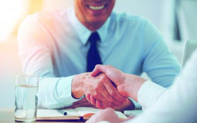 Business Handshake with Smile