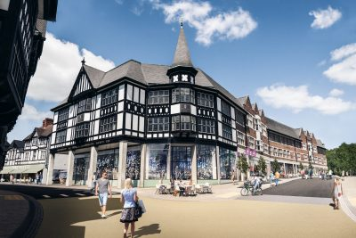 Chesterfield Co-op redevelopment on Elder Way by Jomast