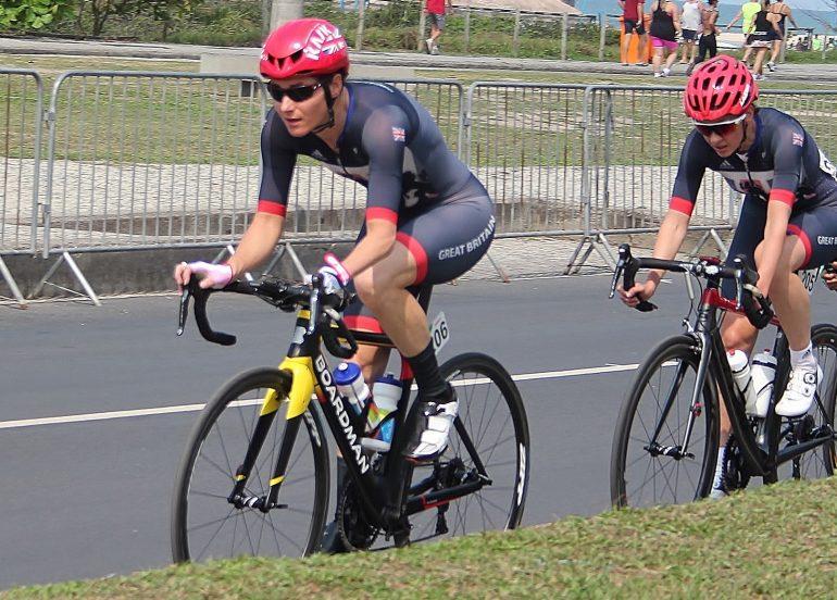 Dame Sarah Storey race pic