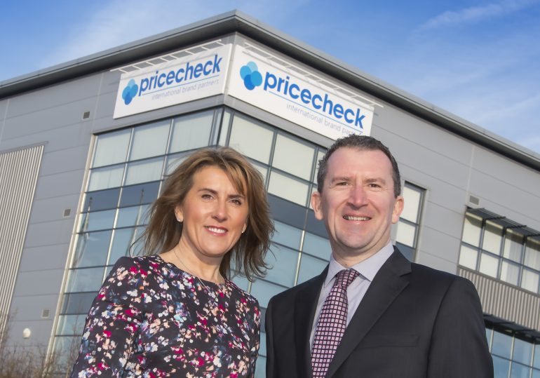 Debbie Harrison and Mark Lythe Pricecheck Joint MDs