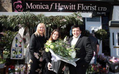 Monica F Hewitt Florists, Sheffield, 29 March 2019