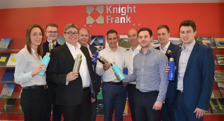 Knight Frank Sheffield plastic free pledge Apr 19