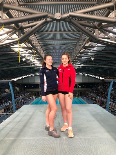 Tia McGarry and Lucy Hawkins