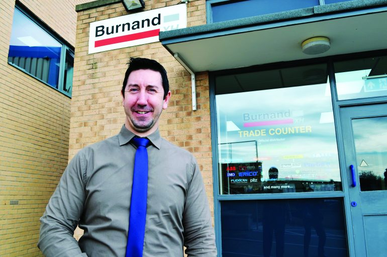Wayne Humphreys, Burnand XH Sheffield Branch Manager