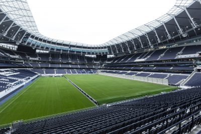 2019 01 - SCX - Completed retractable pitch from South Stand