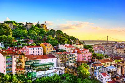Lisbon Skyline – Sao Jorge Castle