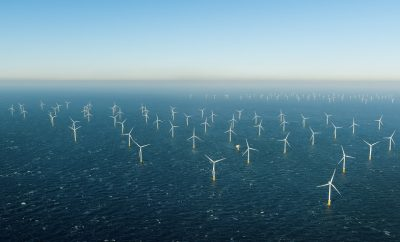 Offshore windfarm, Domburg, Zeeland, Netherlands