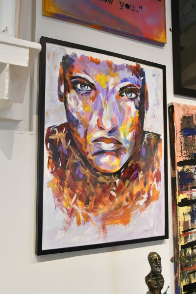 Artwork on display at the 'Best of Art' show 1