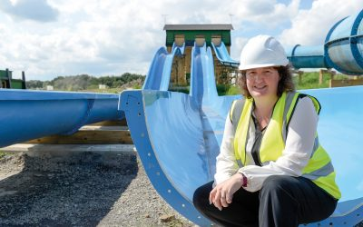 Julie Dalton at the new Gullivers Valley site at Rother Valley in Sheffield