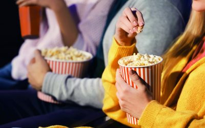 Cinema and Popcorn in Hand
