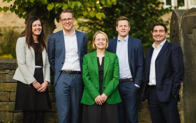 From left to right - Rachelle Rowbottom, Paul Winwood, Lisa Leighton, Kevin Davies, Hamish Morrison