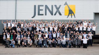 Jenx team photo