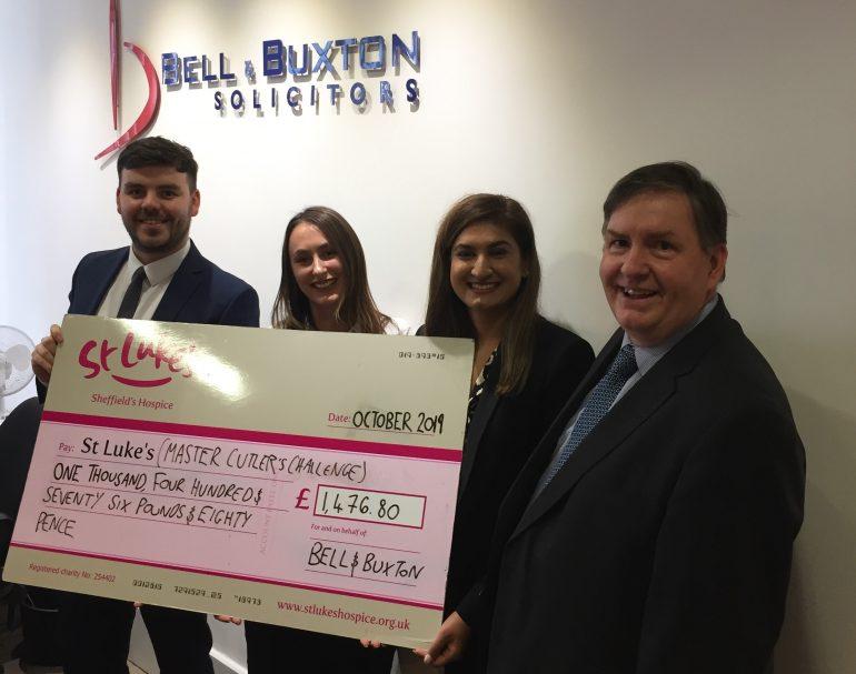 Bell & Buxton MCC donation