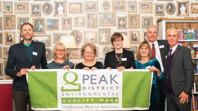NEWS Peak District award winners with Andrew McCloy