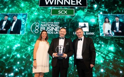 NEWS SCX Innovation award - Darren Falkingham