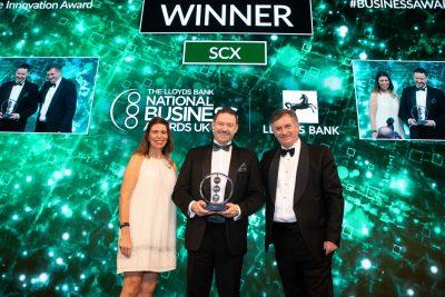 NEWS SCX Innovation award - Darren Falkingham