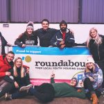 Rough sleepers brave freezing temperatures to raise £20,000 for Roundabout