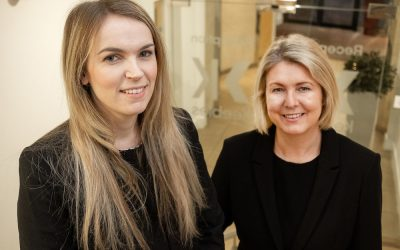 Keebles' Partner Sarah Burton and Litigation Solicitor Danielle Swainston