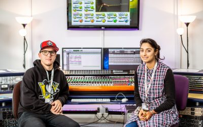 Barnsley College Higher Education Music Production students