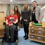 Sheffield postural support specialist provides 'life-changing' equipment donation for charity