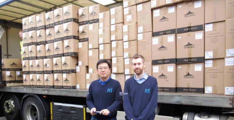 Coronavirus JRI shipment