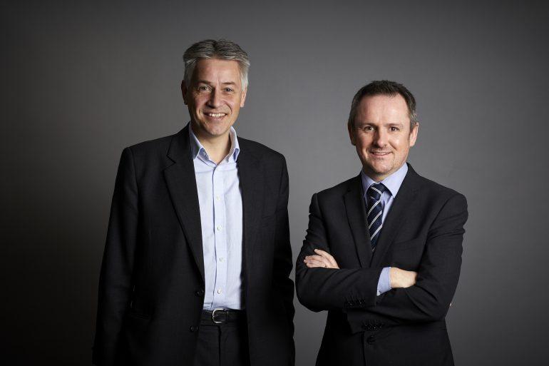 Paul Trudgill and Matt Ainsworth