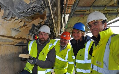 Historic England Grant To Repair Cornice Stones On Roof Of Wentworth Woodhouse 2