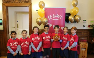 St Luke's Biz Kids winners 2020