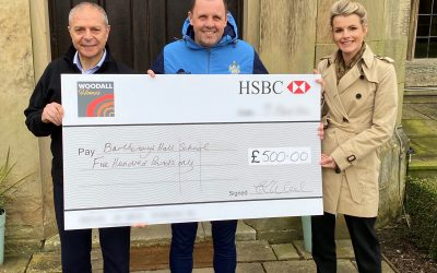 Barlborough School donation