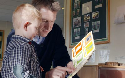 Dan Jarvis and child