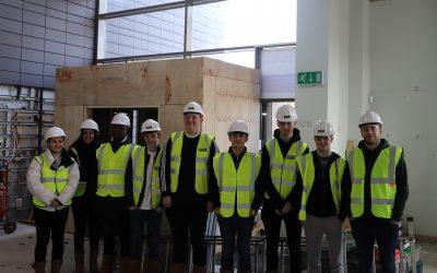 Sheffield Hallam students on site in DMC 02