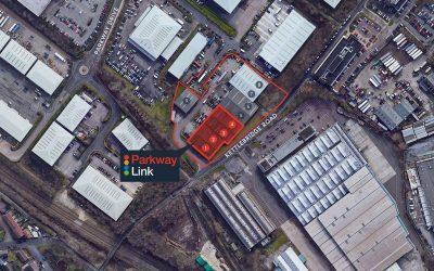 Parkway Link Sheffield 2 aerial Jun 20