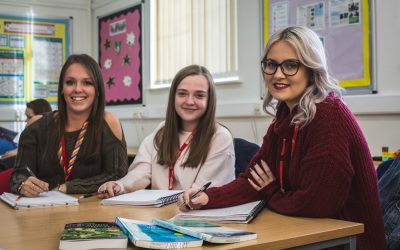 Barnsley College Higher Education's Childcare and Teacher Training students_